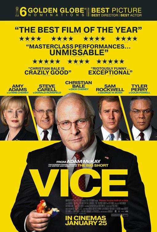 Phim Vice về phó tổng thống quyền lực nhất lịch sử nước Mỹ