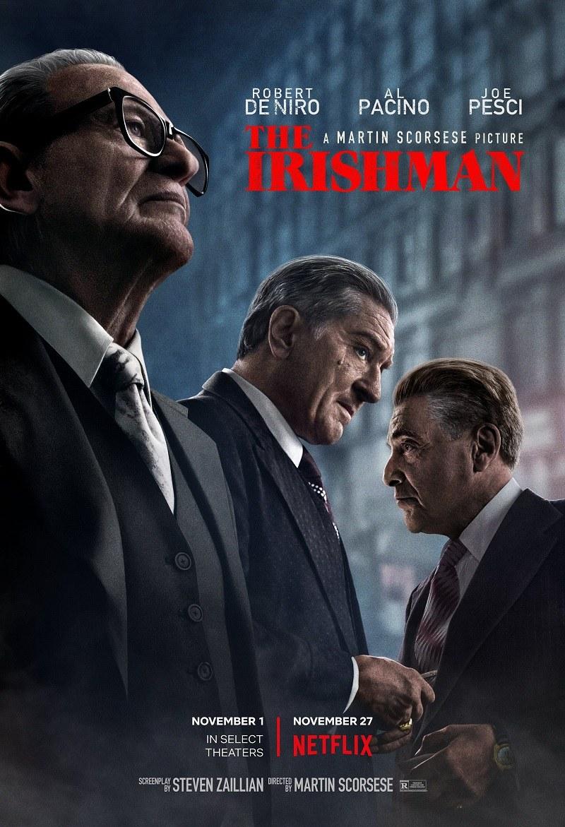 Phim 'The Irishman' và phong cách đặc trưng của Martin Scorsese