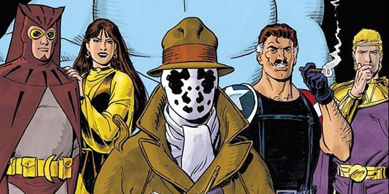 "Comic ""Watchmen"" 1986"