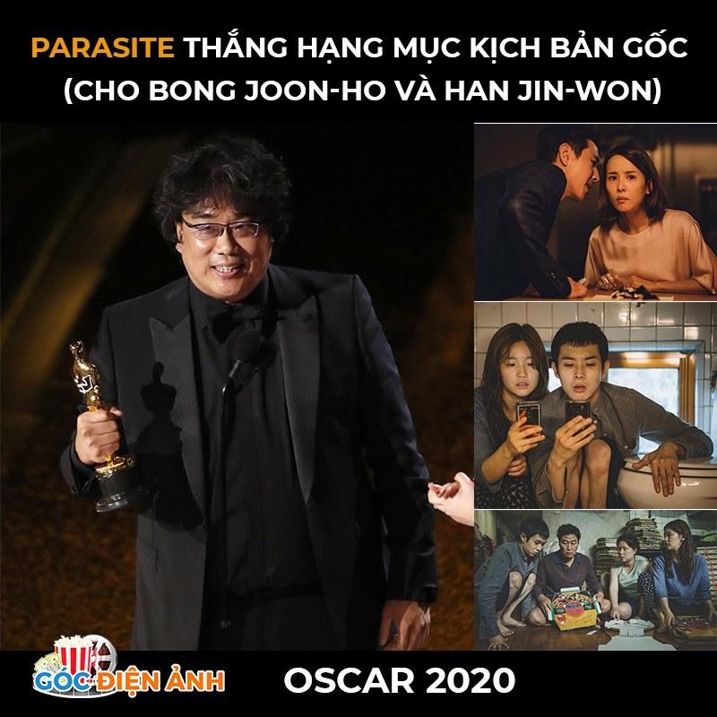 Kết quả lễ trao giải Oscar 2020: Parasite đại thắng