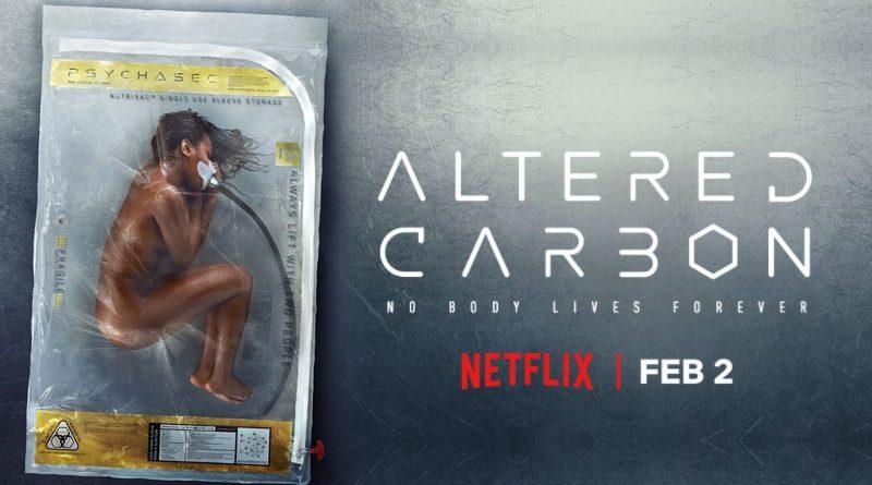 Review series phim Altered carbon (Linh hồn đổi xác) của Netflix