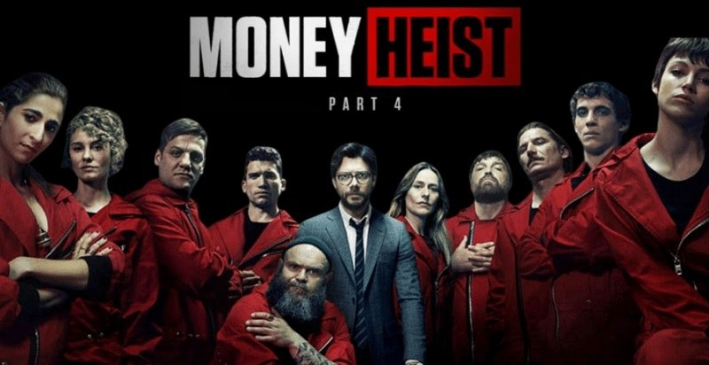 Review phim 'Money Heist' season 4 trên Netflix